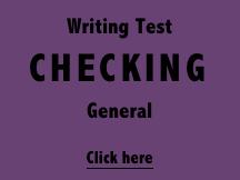 Writing Checking - General