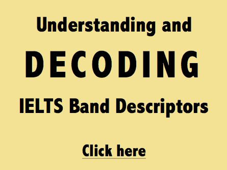 YES IELTS Decoding the Band Descriptors